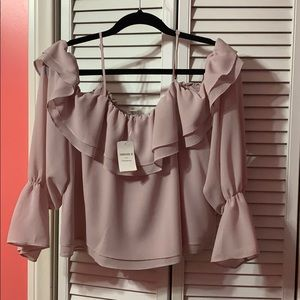Forever 21 Contemporary Off the Shoulder Blouse